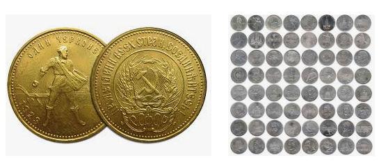Юбилейные монеты СССР. Каталог монет с 1984 по 1988 год